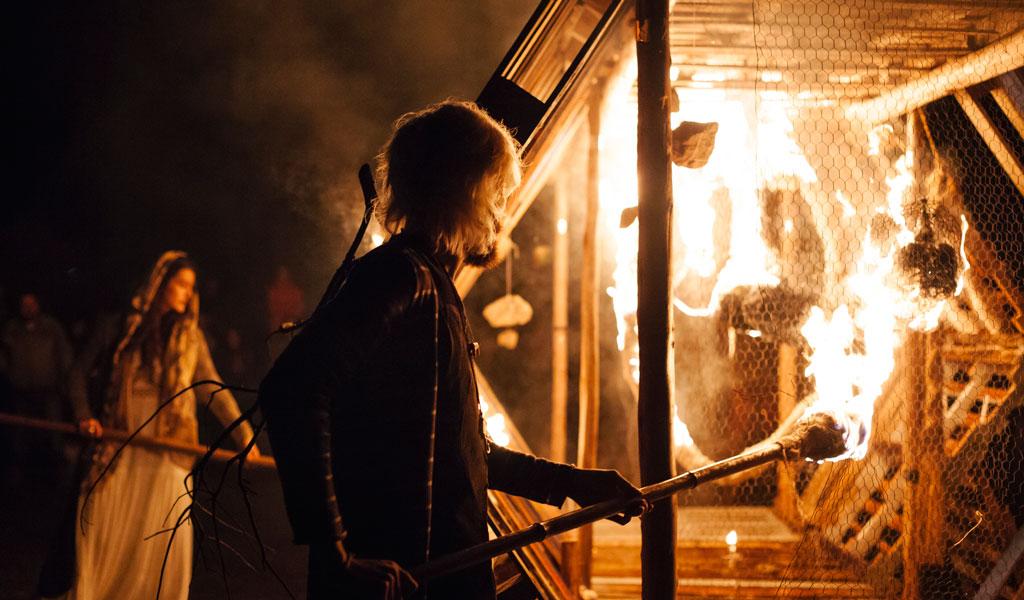 Protagonista do festival deste ano: o fogo